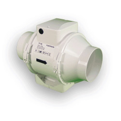"Vents TT 100mm 4"" Extraction inline fan bathroom hydroponics"