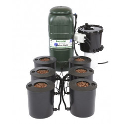 IWS Deep Water Culture 6 Pot Bubbler System 100L DWC