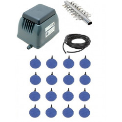 IWS Deep Water Culture 16 Outlet Pump Kit For 16 Pot DWC
