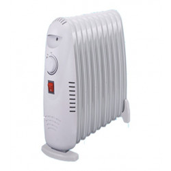 Grow Room Heater 1500w Oil-Filled Radiator