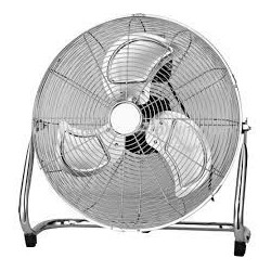 "20"" Metal floor fan air circulator 3 speed"