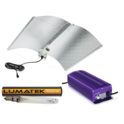 1000w Lumatek Digital Large Adjust-a-wing Lighting Kit