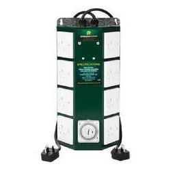 Green Power 8 Way Professional Contactor Timer