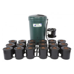 IWS Deep Water Culture 18 Pot Bubbler System 350L DWC