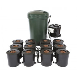 IWS Deep Water Culture 12 Pot Bubbler System 220L DWC