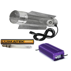 1000w Lumatek Digital Cooltube Lighting Kit choice of bulb