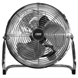 "16"" RAM Metal floor fan - 3 Speed x 2"